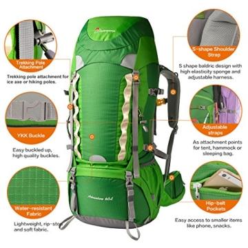 Mountaintop Trekkingrucksack Test