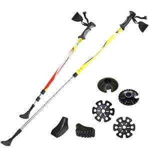 Ultrasport 3 in 1 Ganzjahres Trekking-Wander-Skistock