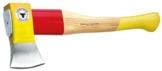 Ochsenkopf OX 644 H-1255 Spalt-Fix®-Beil / Hochwertiges kleines Spaltbeil mit Hickory-Holzstiel und Rotband-Plus Stielbefestigung / Gewicht: 1950 g - 1